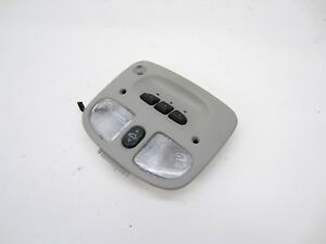 2007 2009 Saturn Aura Dome Light Roof Switch Home Link Garage Gm15891476 Gray