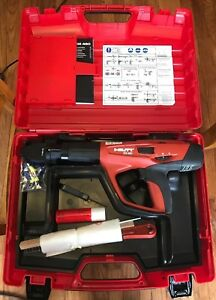 Hilti Dx 460 Powder Actuated Tool Kit In Plastic Case With X 460 f8 New