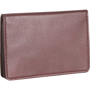 Royce Leather Men s Business Card Case Burgundy Business Accessorie New