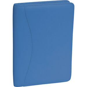 Royce Leather Jr Writing Padfolio Royce Blue Business Accessorie New