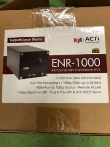 Enr 1000 Acti 4 Channel Nvr Standalone