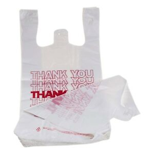 Tashibox Shopping Bags thank You Bags reusable And Disposable Grocery Bags
