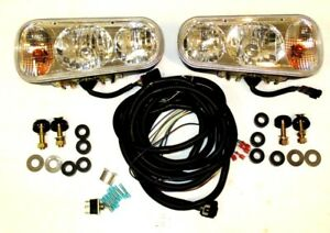 Snow Plow Halogen Light Kit Universal Sam Buyers Part 1311100