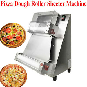 Fda Pizza Bread Dough Roller Dough Sheeter Pizza Making Machine Stainless Steel