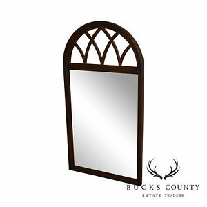 Ethan Allen Cherry Arch Top Mirror