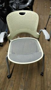 Herman Miller Slightly Used Green Caper Multipurpose Chairs Retail 700 Each