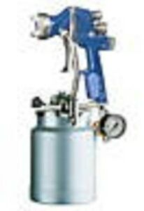 Hvlp Paint Spray Gun 1 5mm Geo System New