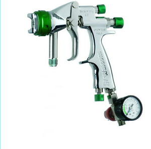 Paint Spray Gun 1 7mm Genesi Hvlp Includes Accessories New