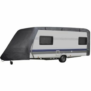 Travel Trailer Cover For Rv Travel Camper Fits 20 23 Ft Storage Cover W Zipper