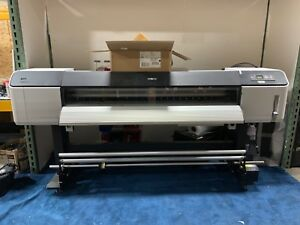 Epson Stylus Pro Gs6000 Wide Format Printer used graphics Signs Banners Decals