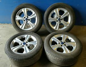 13 14 15 16 Ford Escape 17x7 1 2 5 Spoke Alloy Wheels And Tires Set Of 4 3943