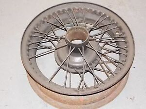 Jaguar Xk140 Xk150 Wire Wheel For Parts Or Repair