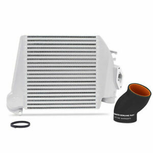 Mishimoto Top Mount Intercooler Tmic Silver Core W Black Hose For 08 14 Wrx