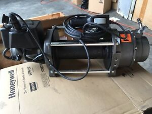 Warn Industrial Series 18 Dc Electric Winch 72005 24 Volts 18000 Lb