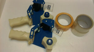 Uline 3 Inch Heavy Duty Side Load Tape Gun Dispenser Qty 2 Ebay Tape Lot