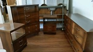 Mid Century Bassett King Bedroom Set