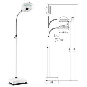 36w Led Surgical Exam Light Mobile Shadowless Lamp Surgical Lamp For Surgery Sal