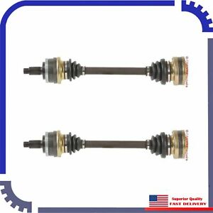 2pcs Brand New Cv Axle Shaft Rear Left Right For 1987 1991 Bmw 325i Base