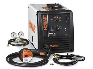 Hobart 500559 Handler 140 Mig Welder 115v 5 position Voltage Mild Steel Thicknes