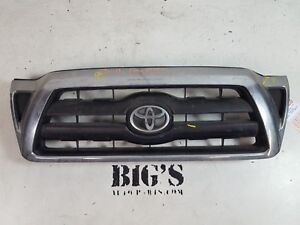 2005 2006 2007 2008 2009 2010 Toyota Tacoma Front Upper Grille Oem Used