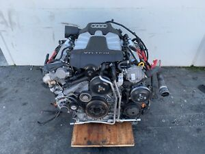 10 12 Audi A6 A7 S4 S5 3 0 Liter Supercharged Engine Motor Block Ccb 014154