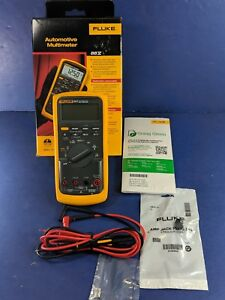 New Fluke 88v Automotive Meter July 2018 Original Box Accessories