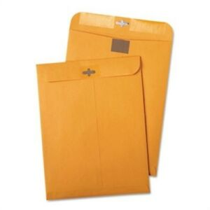 Postage Saving Clearclasp Kraft Envelopes 9 X 12 Brown Kraft 100 box 2 Pack