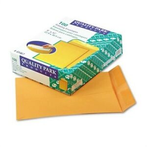 Catalog Envelope 9 X 12 Brown Kraft 100 box X 2
