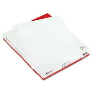 Economy Tab Dividers 8 tab Letter White 24 Sets box 3 Pack