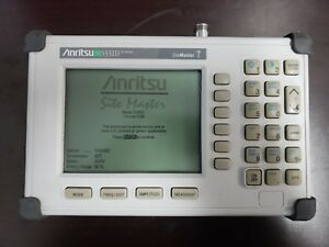 Anritsu S331d Site Master Cable Antenna Analyzer