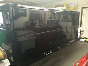 Snap On Snapon Snap on Top Hutch In Black For Kra Or Krl Tool Boxes