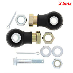 Tie Rod End Kit Fit For Polaris ATV Sportsman 500 1998-2005 Moulding Well 2 Sets