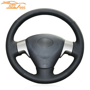 Leather Car Steering Wheel Cover For Toyota Corolla 06 10 Matrix 09 Auris 07 14