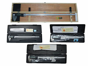 Digital Electronic Vernier Caliper Set 6 8 12 24 Inch Mm Micrometer