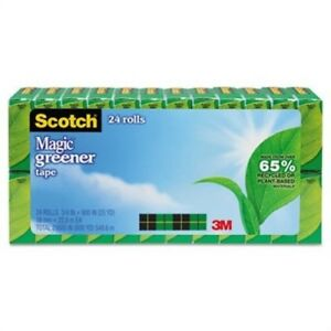 Magic Greener Tape 3 4 X 900 1 Core 24 Rolls pack