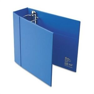 Heavy duty Binder With One Touch Ezd Rings 4 Capacity Blue X 2