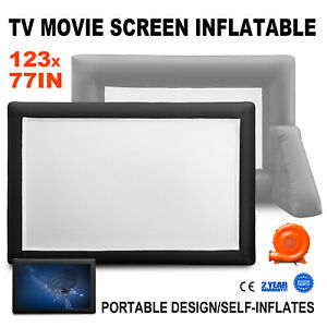 12ft Mega Screen Movie Screen Inflatable Projection Screen Portable Huge Outdoor