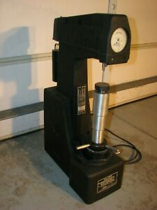 Wilson 4jr Rockwell Hardness Tester Instrument For Testing Hardened Metal Parts