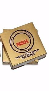 2 Nsk 7210ctynsulp4 Abec7 Super Precision Spindle Bearings Matched Set Of Two