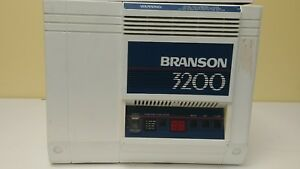 Used Dental Bransonic Branson 3200 Ultrasonic Cleaner High Frequency Sound Unit