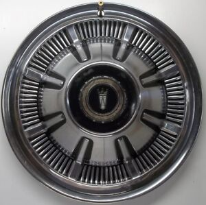 1966 Ford Ltd 15 Inch Hubcap Wheel Cover Original Stainless Steel