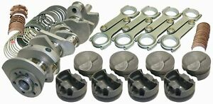 Eagle 11012060 496 Cid 4 310 In Bore Forged Crank Bbc Rotating Assembly