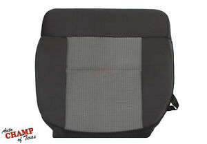 2007 2008 Ford F 150 Xlt F150 Driver Side Bottom Cloth Seat Cover Dark Gray