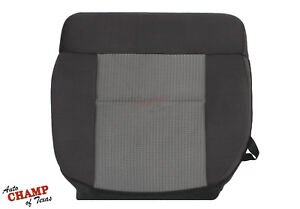 2007 2008 Ford F 150 Xlt Supercrew Driver Side Bottom Cloth Seat Cover Dark Gray