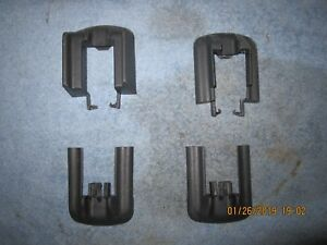 Buick Riviera Oldsmobile Aurora Seat Adjuster Front Rear Cover Covers Set Gray