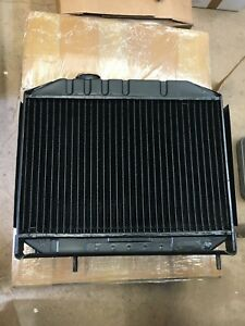 Jeep Willys Mb Gpw Cj2a New Brass Tank 4 Row Original Type Radiator G 503