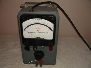 Ballantine Laboratories Inc Model 300h Vacuum Tube Voltmeter Parts Repair
