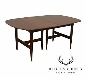 Willett Tansitional Solid Cherry Mid Century Modern Dining Table