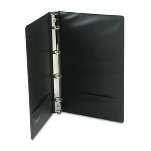 Legal Size 4 ring Binder 14 X 8 1 2 1 Capacity Black X 2