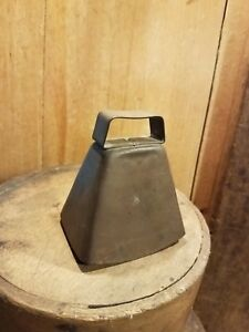 Antique Vintage Metal Animal Bell Cow Goat Early To Mid 1900 S Nice